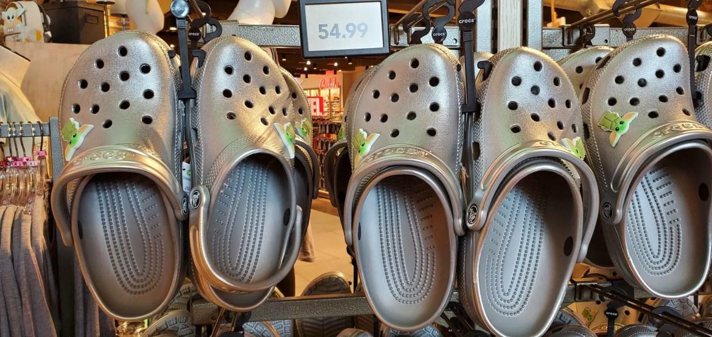 Baby Yoda Crocs Have Landed At Walt Disney World