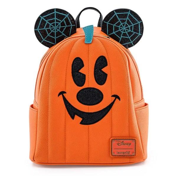 Pumpkin Mickey Loungefly Backpack