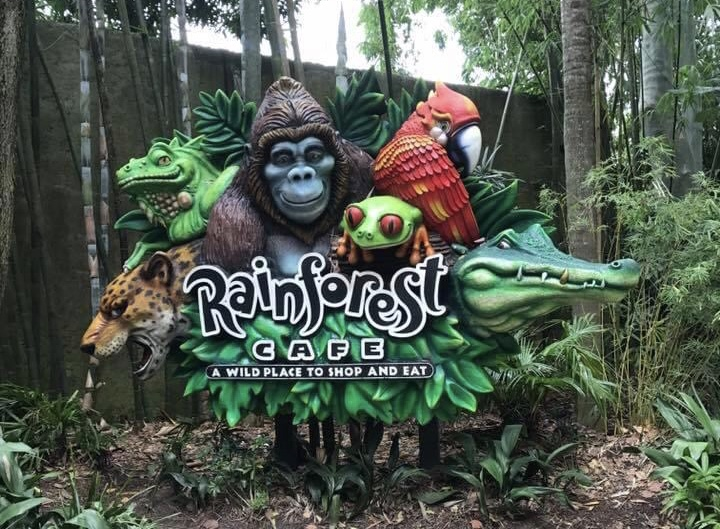 New Permit filed for work on Rainforest Cafe in the Animal Kingdom