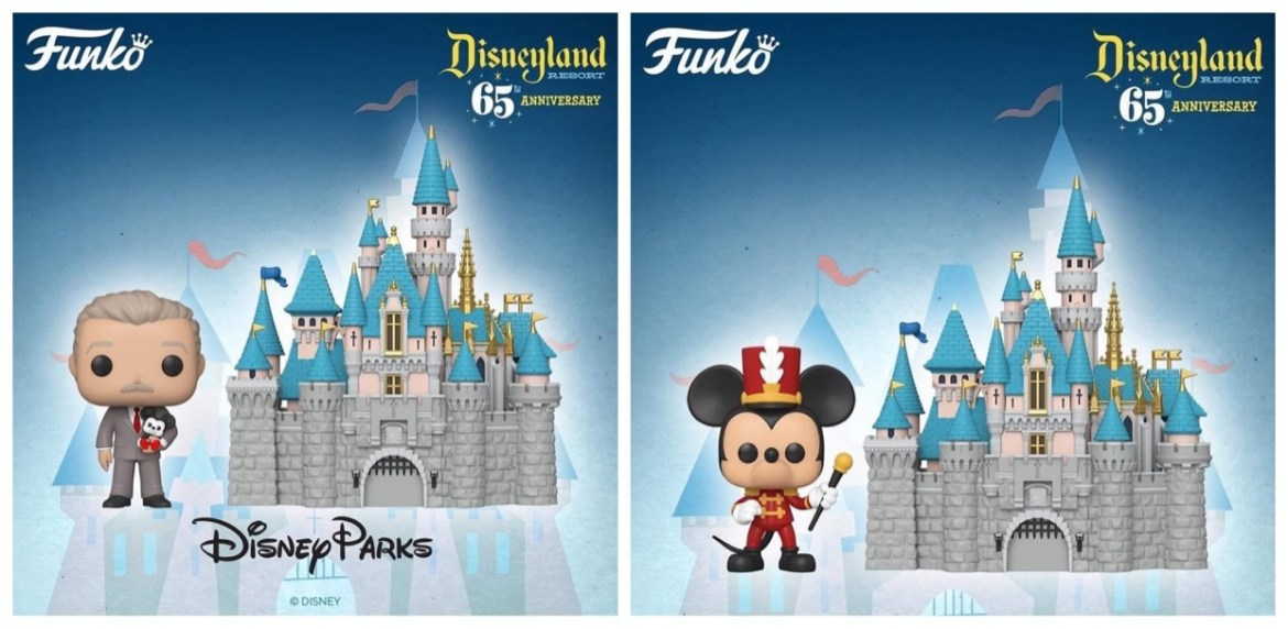 Disneyland 65th Anniversary Funko POP! Figures Revealed