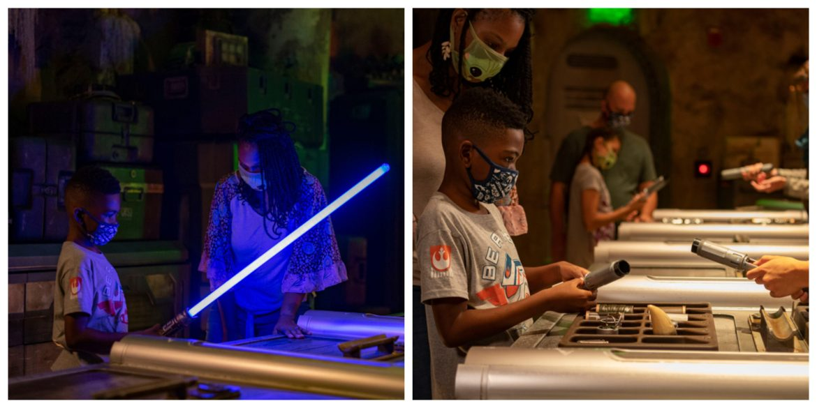 Build Your Own Lightsaber experience returning to Disney's Hollywood Studios