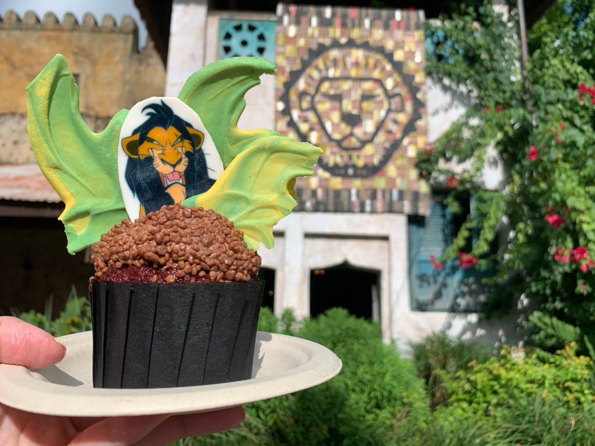 Be prepared for the Scar Cupcake at Disney's Animal Kingdom