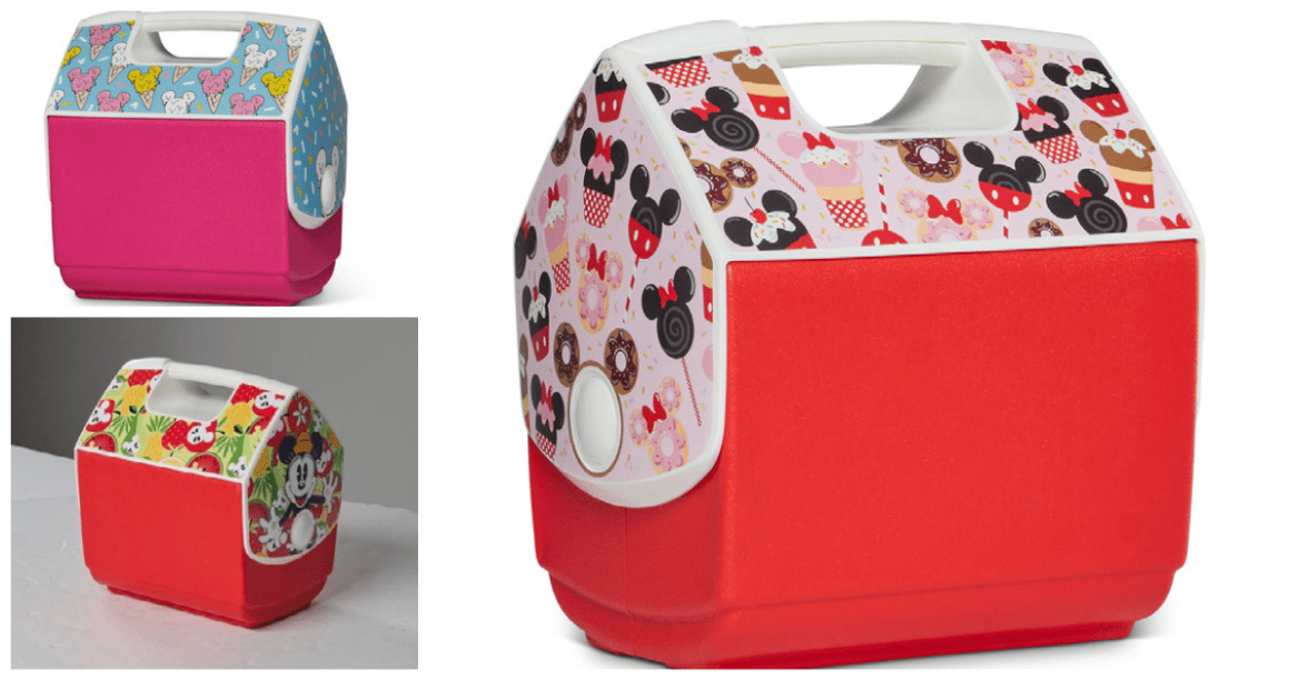 Sweet New Disney Igloo Coolers Inspired by Mickey Shaped Food