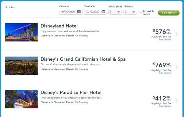 Disneyland Cancels more October Reservations 2
