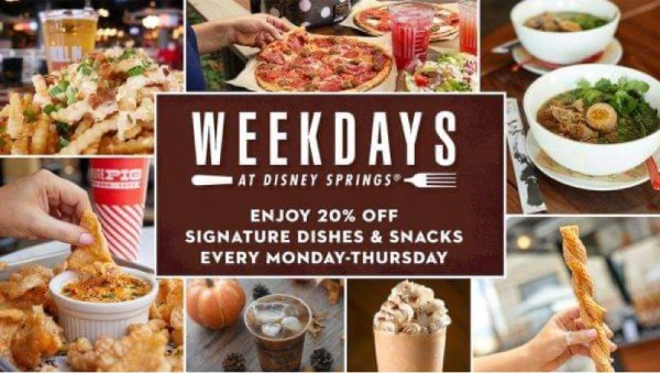 special dining offers disney springs