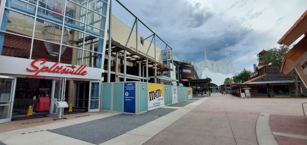 M&M Store Construction update from Disney Springs 5