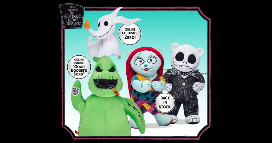 The Nightmare Before Christmas Build-A-Bear Collection Is Scary Cute