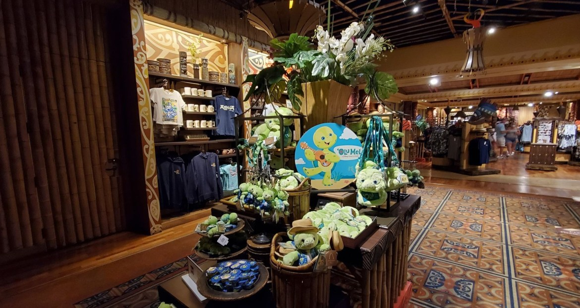 'Olu Mel Merch from Disney's Aulani Resort available for limited time at Polynesian