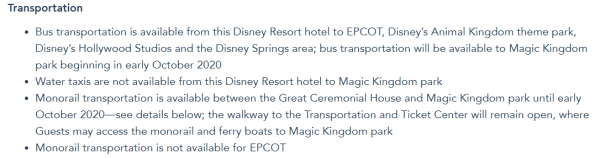 Monorail service to Disney's Polynesian Village Resort will be Temporarily Suspended 2