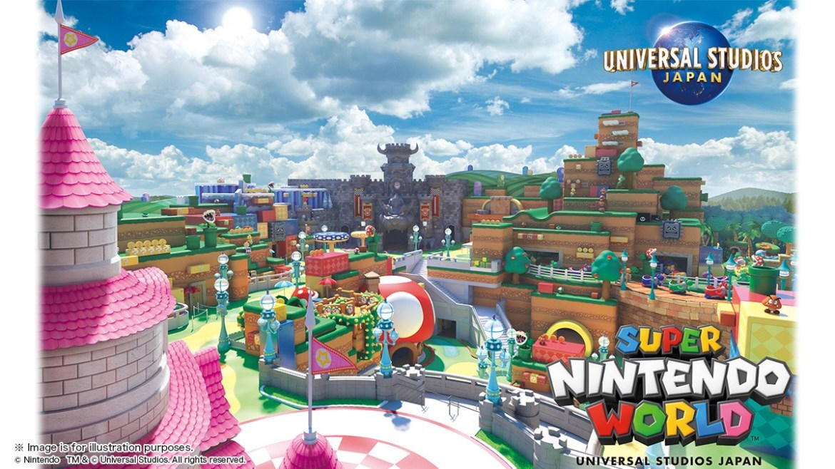 First Look at Super Nintendo World coming to Universal Studios Japan