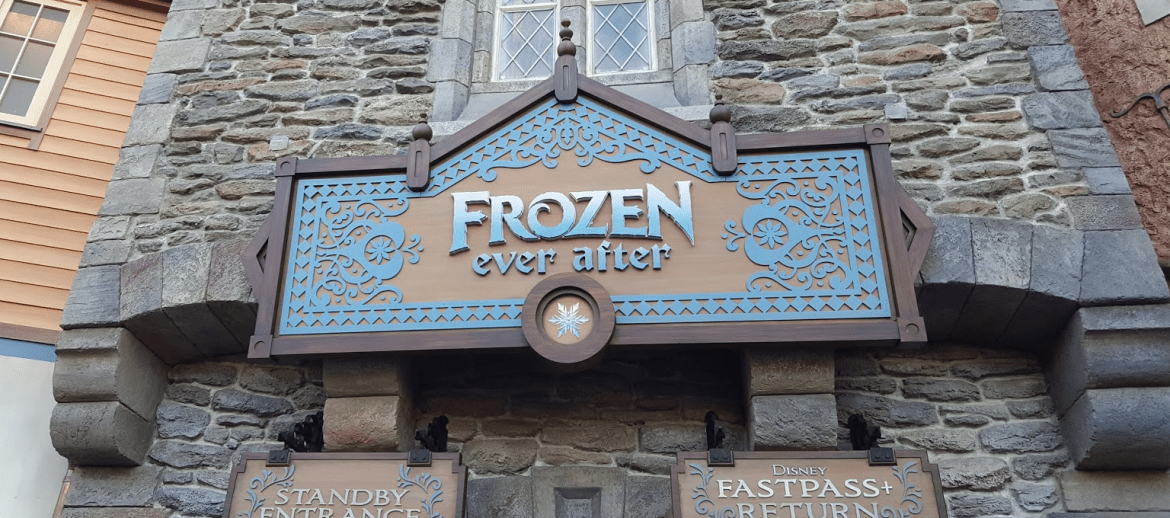 Frozen Ever After will be closing for short refurbishment in November