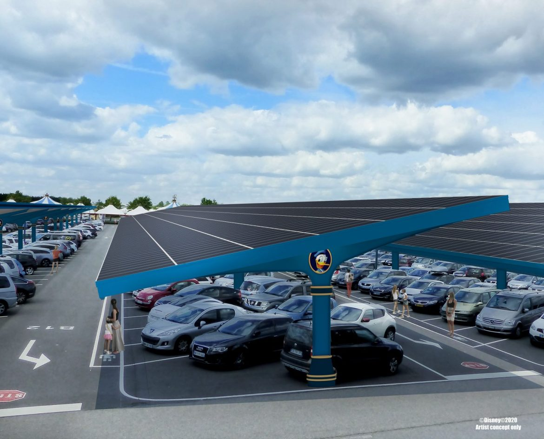 Solar Canopy Plants Coming to Disneyland Paris