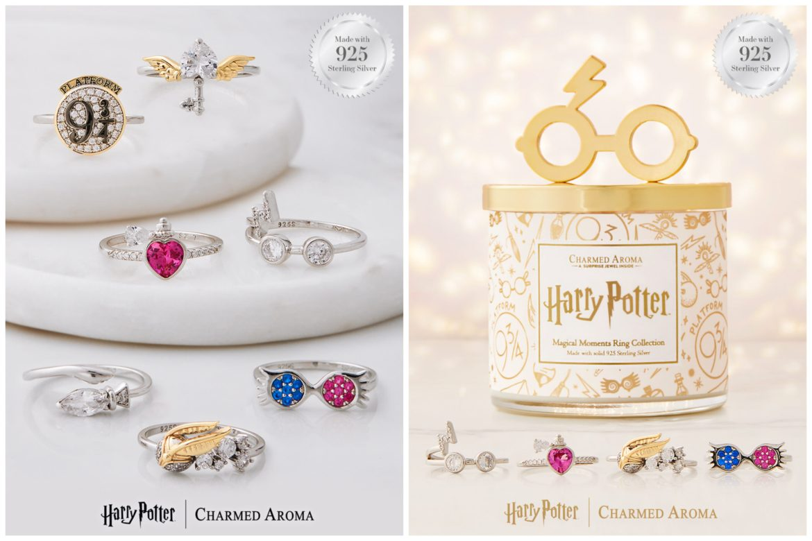 The Charmed Aroma Harry Potter Collection is perfect for Wizards and Muggles Alike