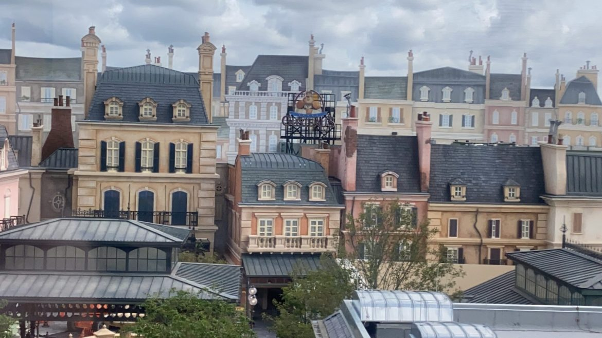 Remy & the France Pavilion Constuction Update from Epcot