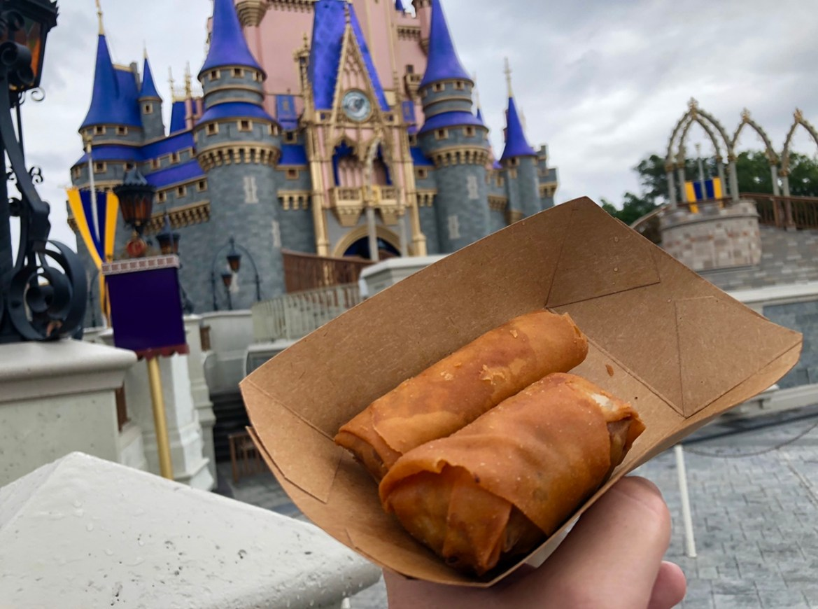 Spring Roll Cart now open in the Magic Kingdom