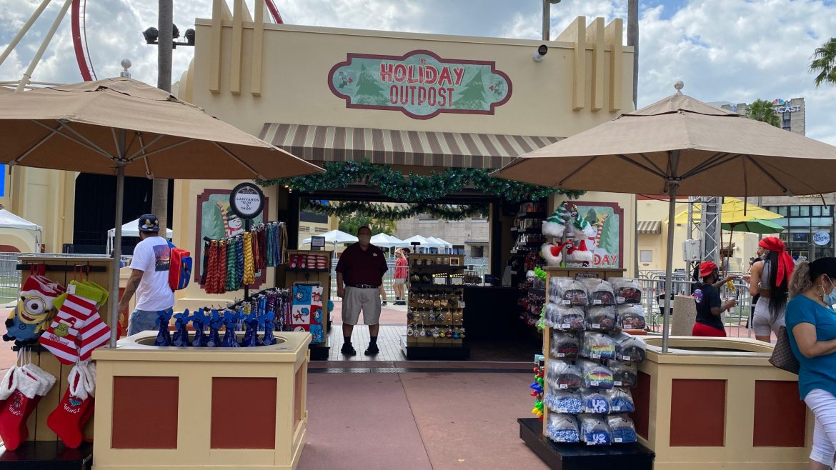 Holidays Outpost opens at Universal Studios