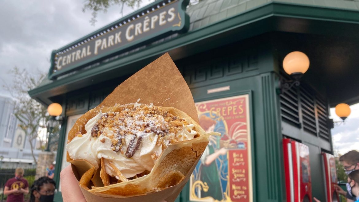 New Banana Cream Pie Crêpe is Available  for a Limited Time At Universal Studios