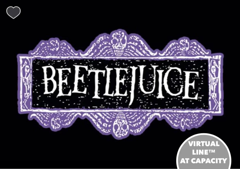 Beetlejuice Haunted House Now Open Universal Studios Orlando