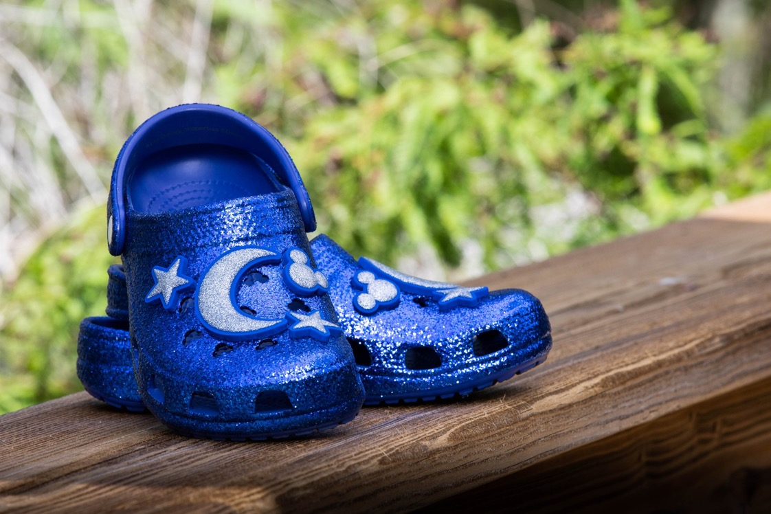 Make a wish come true blue Crocs are a DREAM come true