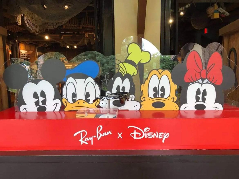 Mickey through the years sunglasses at Sunglass Hut
