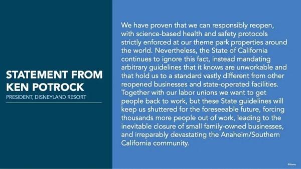 Orange County health officer thinks Disneyland won't open until summer of 2021 1
