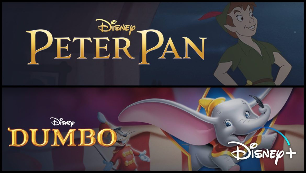 Disney+ Adding Content Advisories in Front of Disney Classics such as Peter Pan, Dumbo, and More