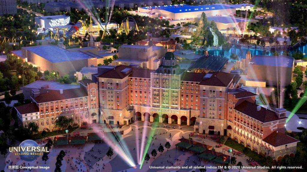 Universal Studios Beijing theme park and Universal CityWalk opening in 2021