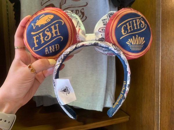 Fish & Chip Ears show up at Epcot