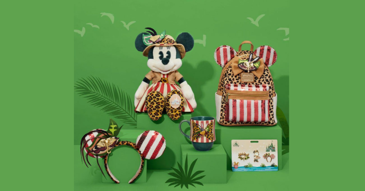 Jungle Cruise Minnie The Main Attraction Collection Revealed