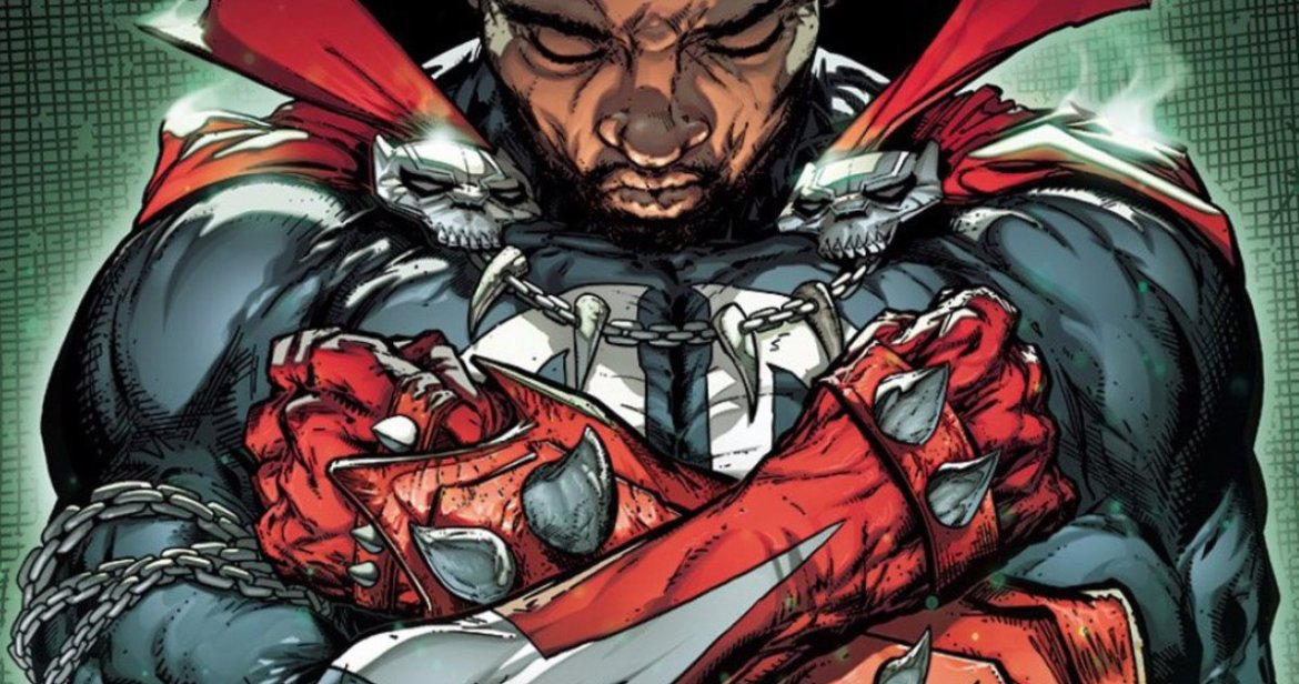 Todd McFarlane Honors Chadwick Boseman in New 'Spawn' Cover