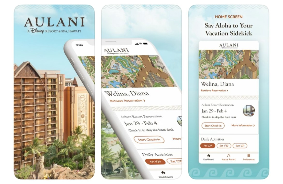 New Aulani Mobile App Just Launched