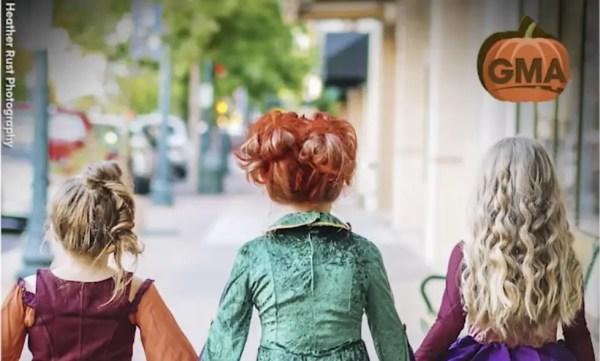 Three Sisters win Halloween in 'Hocus Pocus' Costumes