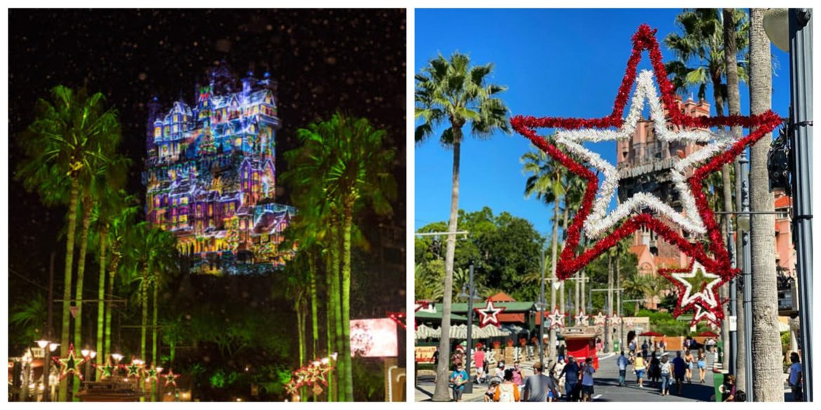 It's starting to look like Christmas at Hollywood Studios