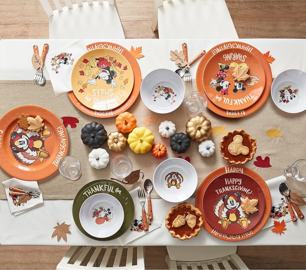 All New Pottery Barn Disney Thanksgiving Collection!