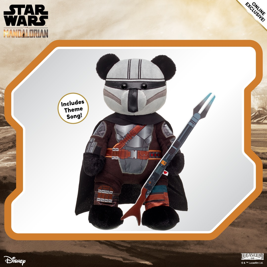 The New Mandalorian Build-A-Bear Plush Is The Way!