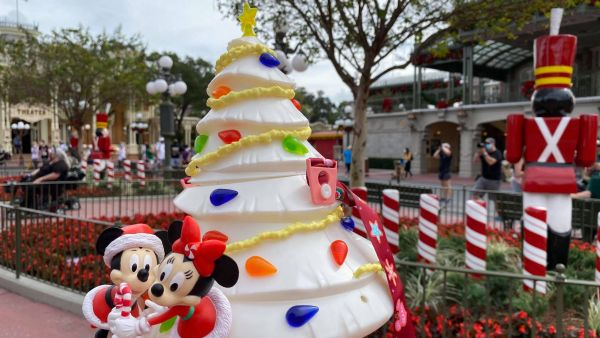 All new Mickey Christmas Tree Popcorn Bucket at the Magic Kingdom 1