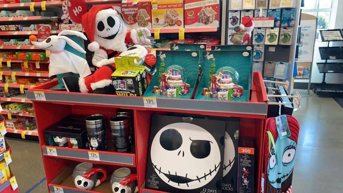 New Nightmare Before Christmas Holiday Merchandise At Walgreens