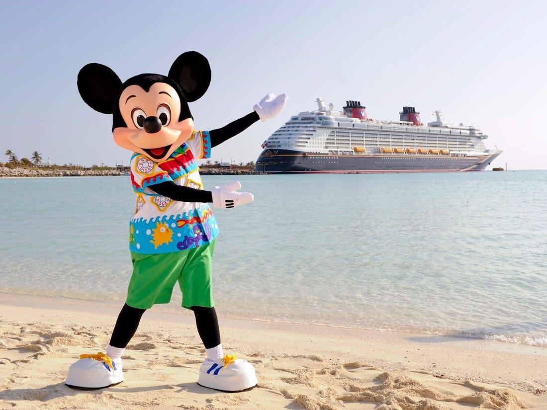 Disney Wonder Sets Sail for Castaway Cay