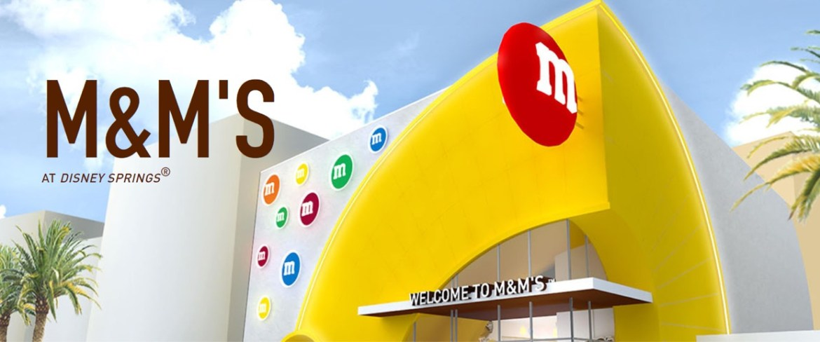 M&M Store Opening in Disney Springs pushed to 2021