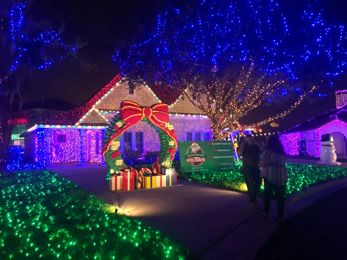3 Million Lights Borrowed from Disney World for Give Kids the World Display