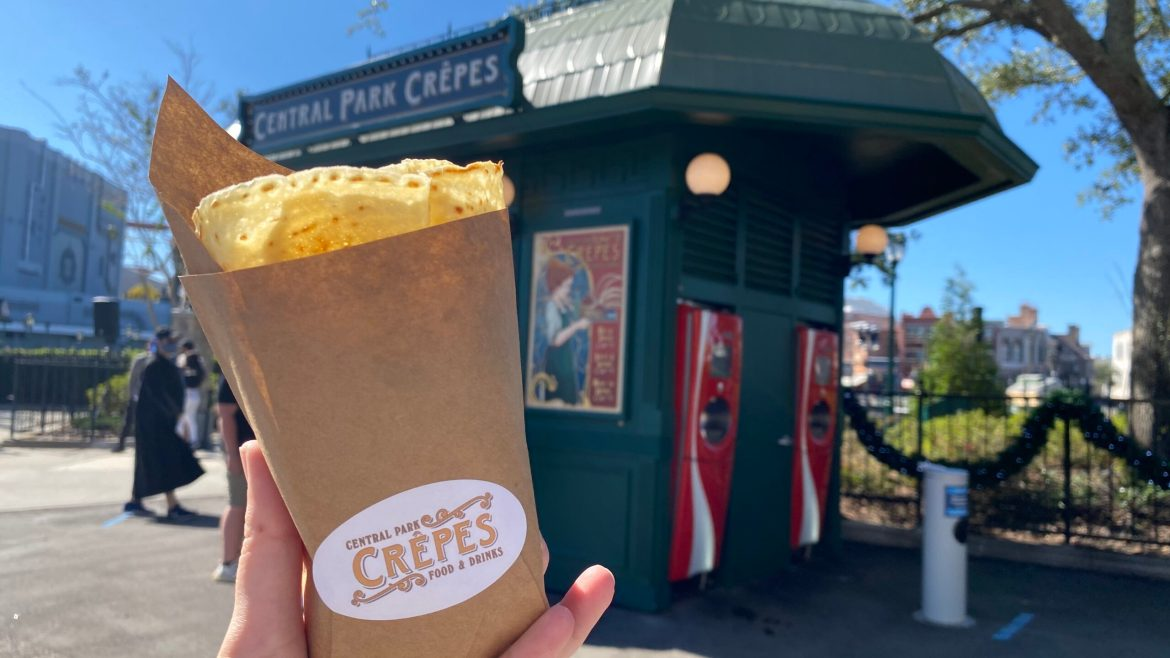 The Thanksgiving Crêpe at Universal is the Perfect Seasonal Lunch