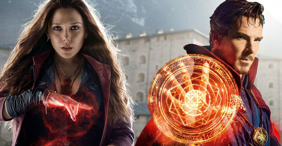 Elizabeth Olsen in London to Film 'Doctor Strange in the Multiverse of Madness'