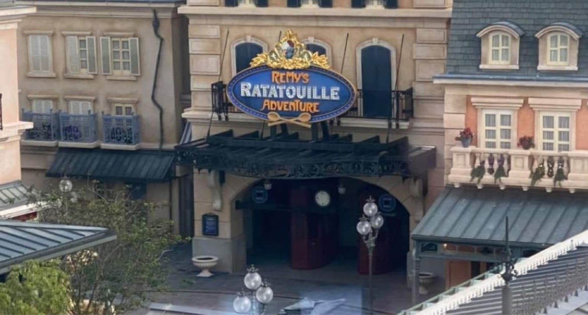 Wait time signs installed on Remy's Ratatouille Adventure