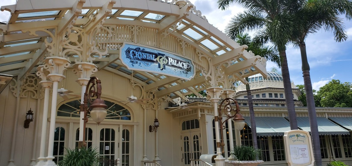 Crystal Palace in the Magic Kingdom reopening with modified experience