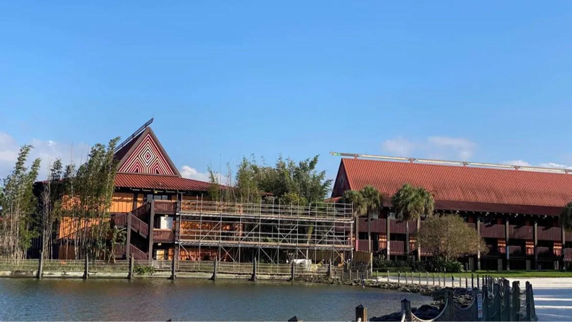 Disney Polynesian Resort Construction moves forward