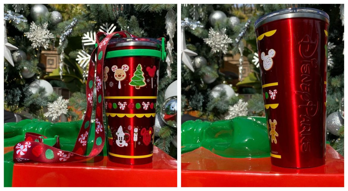 Celebrate the Holidays with the NEW Disney Parks Holiday Tumbler
