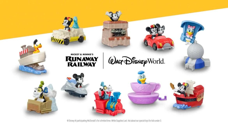 McDonald's halting sales of Disney Attraction Happy Meal Toys
