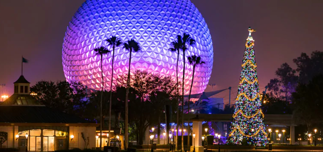 Epcot's 2020 Festival of the Holidays Park Map