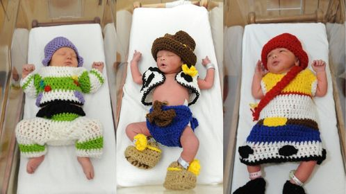 Babies At PA Hospital Dress Up For Toy Story's 25th Anniversary 1