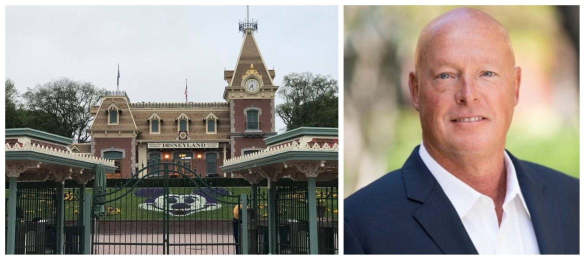 Bob Chapek extremely disappointed that Disneyland remains closed